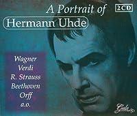 Portrait of by HERMANN UHDE