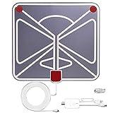 Nicerpro HDTV Antenna,Indoor TV Aerial Digital TV Antenna, Amplifier Signal Booster Freeview HDTV