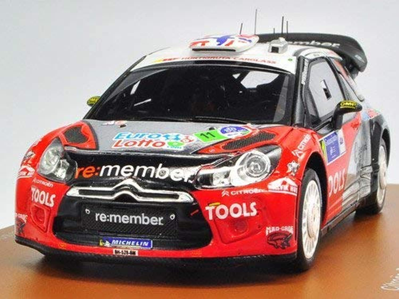 Citroen DS3 WRC (2011 Mexican Rally) Resin Model Car