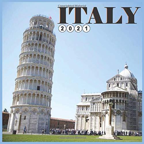 Italy 2021 Calendar: Wall and Disk Calendar 2021, 16 Months