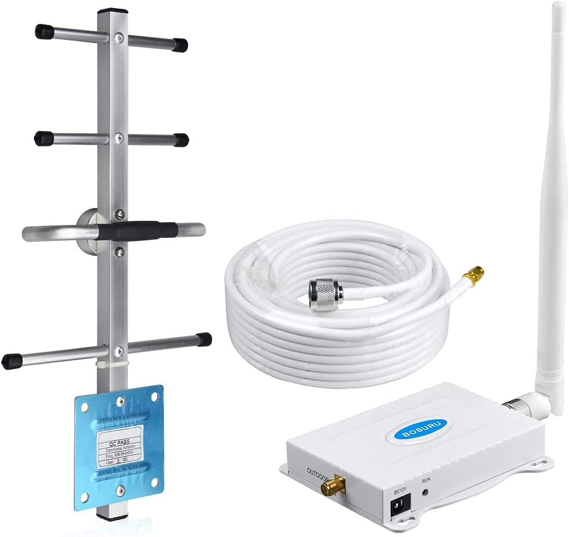 Cell Phone Signal Booster AT&T Signal Booster 4G LTE 5G T-Mobile Cricket US Cellular Band12/17 ATT Cell Phone Booster AT&T Cell Signal Booster ATT Signal Amplifier Repeater Cell Extender for Home