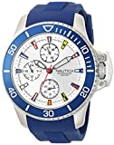 Nautica Analog Silver Dial Men's Watch-NAPBYS002