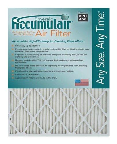 Accumulair FC13X21A_4 MERV 6 Rating Air Filter/Furnace Filters