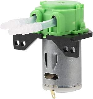 Peristaltic Pump, Akozon DC12V/24V DIY Peristaltic Liquid Pump Dosing Pump for Aquarium Lab Chemical Analysis(Green 24V 35)