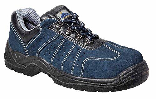 Portwest FW02 - Trainer perforada 46/11, color Azul, talla 46