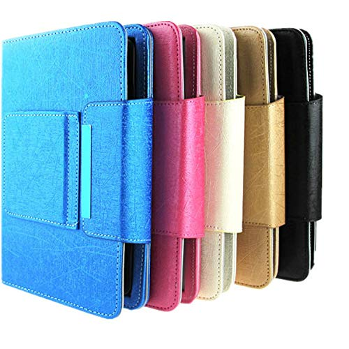 feilai Tablet Accessories - Funda universal desmontable con teclado Bluetooth para tablet de 7 a 8 pulgadas (color: azul)