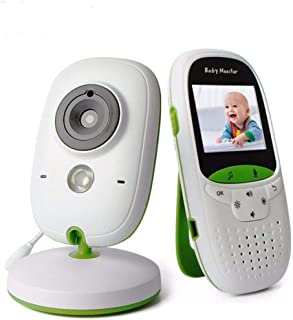 Baby Monitor with Camera and Audio WiFi Multi-Language Support Temperature Monitoring and Automatic Night Vision Function ...