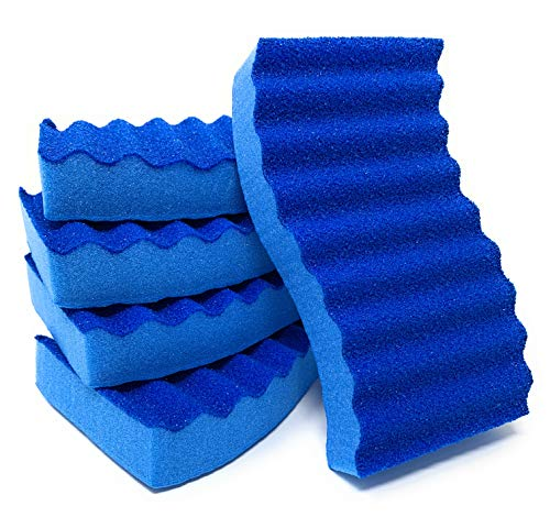 EverydayEssentials Blue Odor Resistant Sponge, Non Scratch and Multi-Purpose Scrub Sponges, Perfect for Everyday Use (10 Pack)