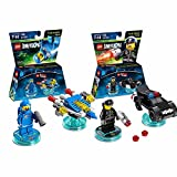 Lego Dimensions The Lego Movie Fun Pack Bundle of 2 - Benny Fun Pack (71214) & Bad Cop Pack (71213)