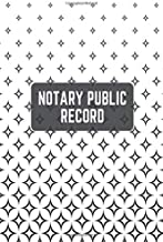 """Notary Public Record: Template Tracking Notary Record Book Keeper Administrative Affairs Notebook Journal for Write-In & Sign-In Large Print Size 6"""" x 9"""". (Notary Record Notes)"""
