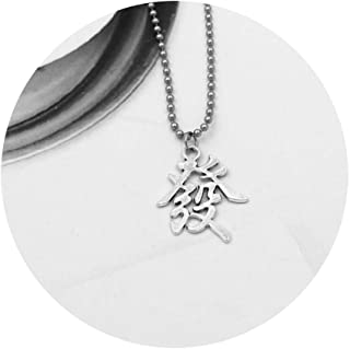 Stainless Steel Beads Chains Cute Rabbit Alien Leaf Dollars Angel Necklaces Men Punk Necklace Fazi 011 60Cm