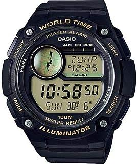 كاسيو ساعة رياضية اولاد رقمي بلاستيك مطاطي - CPA-100-9AV