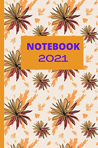 NOTEBOOK 2021: My Year 2021 Daily Diary One Page Per Day notebook, planner, agenda, notes, girly diaries