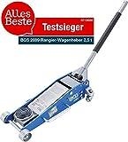 BGS 2889 | Rangier-Wagenheber | 2,5 t | hydraulisch | Hubhöhe 100 - 460 mm |...