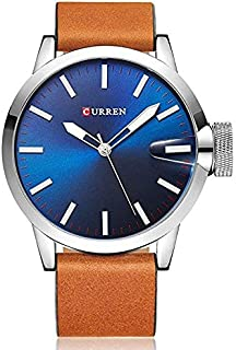 Curren Sport Watch For Men Analog Leather - M-8208
