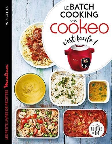 Le batch cooking au cookeo, c'est facile ! (Les petits Moulinex/Seb)