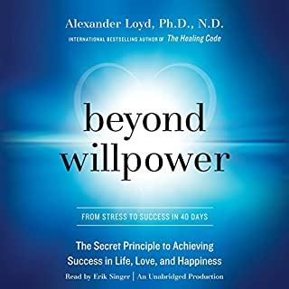 Beyond Willpower audiobook cover art