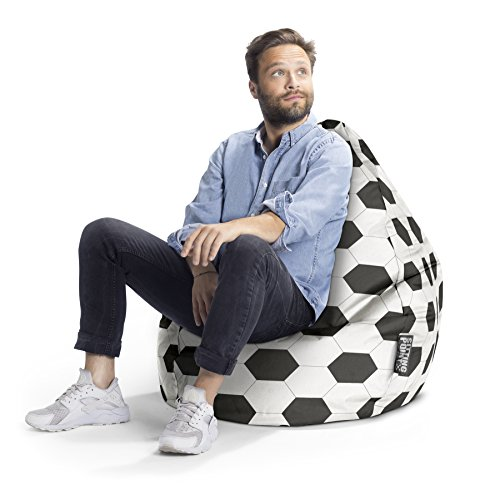 SITTING POINT only by MAGMA Sitzsack Fußball XL, ca. 220L