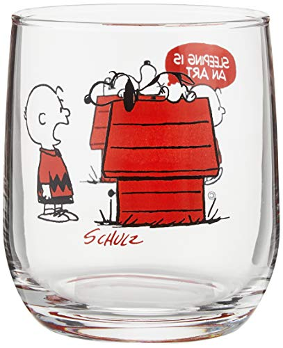 大西賢製販 PEANUTS グラス HOUSE RD サイズ:約W6.9 D6.9 H8.2 PE-600