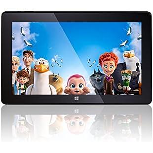 "11.6"" Windows 10 Tablet PC - Windows 10, Full HD, Intel Quad-Core,T60 Model, IPS Screen, 2GB RAM, 32GB Storage, Fusion5 Windows Tablet PC (11.6)"