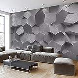 Tv Fondo Papel De Pared 3D Minimalista Moderno Geométrico Piedra Sala De Estar Mural Dormitorio Decoración Papel Tapiz Revestimiento De Paredes,250Cm×175Cm