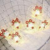 DFJU String Light Conto de Fadas Led Decorativo Jardim Luz Cortina de Festa Branco Quente, Bell Girls Bedroom, Festa, Casamento, Árvore de Natal, Aniversário
