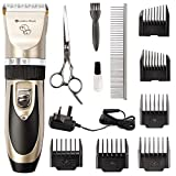 Grandma Shark Dog Grooming Clippers, low noise handheld wireless rechargeable dog hair trimmer