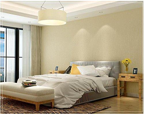 Yosot moderne minimalistische 3D reliëf effen geweven behang kleur tv achtergrond behang slaapkamer woonkamer Champagne Color
