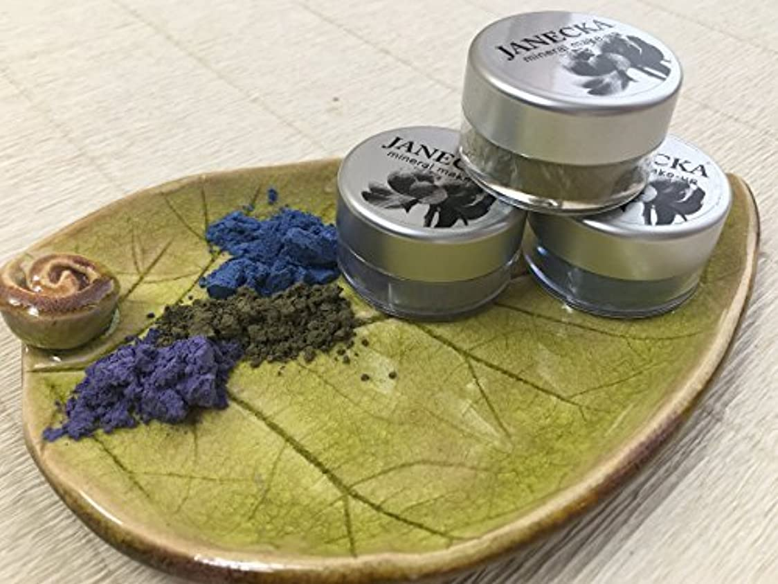 ベットスコアギャラントリーJANECKA Multi Color Eye Shadow - Handcrafted - Mineral Make-Up - Gift Set [並行輸入品]