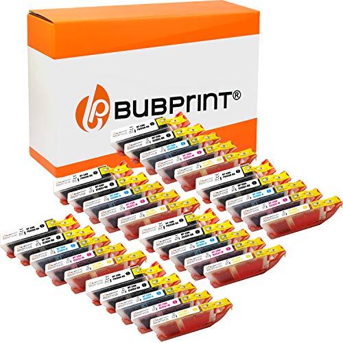 Bubprint 30 Cartuchos de Tinta Compatible con Canon PGI-550 CLI-551 XL para Impresora Pixma IP8750 MG5600 MG5655 MG7150 MG7550 MX725 Multipack