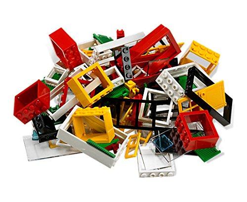 25 Lego Fenster und Türen gemischt