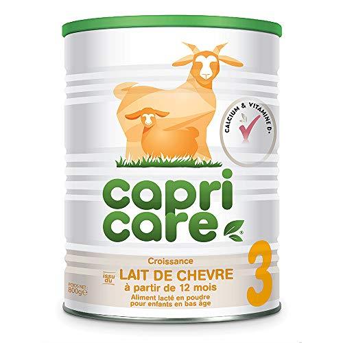 Capricare Lait de Chèvre 3 Dès 12 Mois 800 g