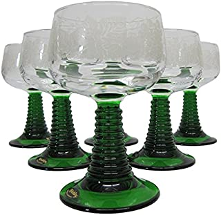 Best roemer wine glasses green stem Reviews