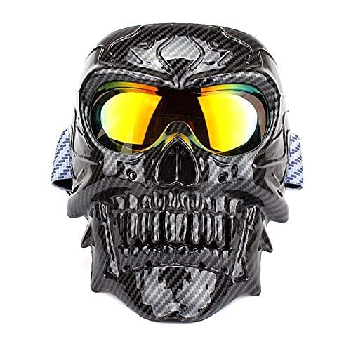 AMFG Gafas de motocicletas, gafas a prueba de polvo, gafas a prueba de arena, gafas de esquí al aire libre para hombres y mujeres (Color : C)