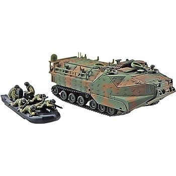 青島文化教材社 1/72 ミリタリーモデルキットシリーズ SP 陸上自衛隊 水陸両用車 (AAVC7A1 RAM/RS) 指揮通信型 「島嶼部強襲上陸」 プラモデル