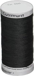 Gutermann Extra Strong Thread, Polyester, Black, 100 m