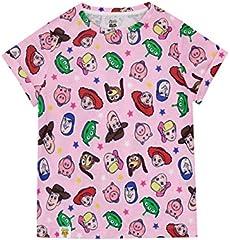 Disney Camiseta de Manga Corta para niñas Toy Story