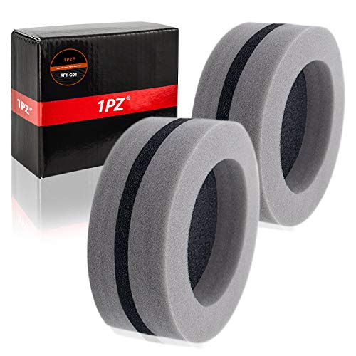 1PZ RF1-G01 Round Foam Air Box Filter For Polaris Snowmobile 1993 1994 1995 1996 1997 1998 1999 Replace OEM# 2620057