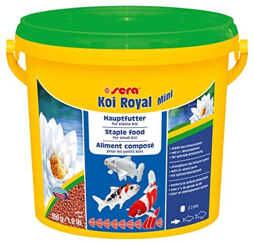 Sera Mangime in Granuli, Koi Royal Mini - 3800 ml