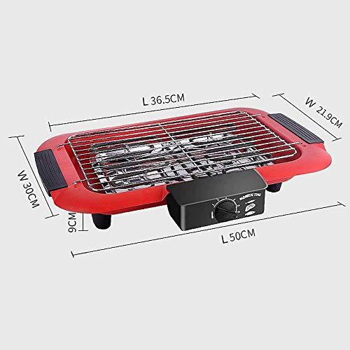 51e huA3fJL. SL500  - SKREOJF Rauch Weniger Infrarot-Grill, Indoor Grill, Heizung Elektrotischgrill, Non Stick leicht zu reinigen BBQ Grill