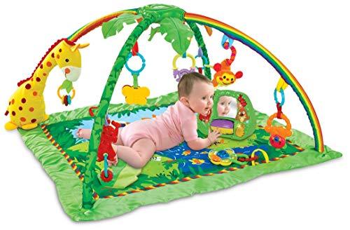 Tapete de Atividades Selva Girafa Color Baby