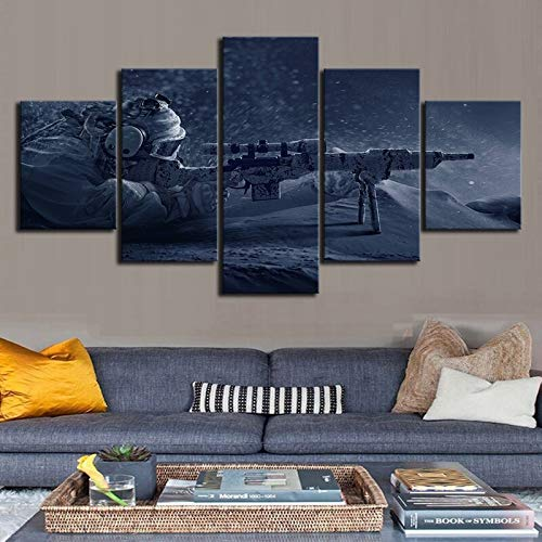 haochenli188 Leinwand Malerei Druck Bild Spiel 's Rainbow Six Siege Sniper Modulare Poster Wandkunst Dekoration Für Wohnzimmer - Kein Rahmen