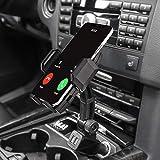 woleyi Support de téléphone de voiture à chargement rapide, double port USB, chargeur de voiture...