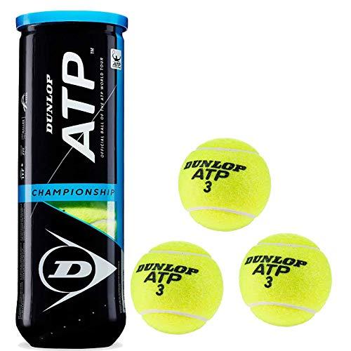 DUNLOP Pelotas Tenis ATP Championship Bote 3 Pelotas