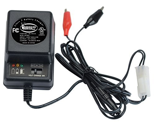 6V or 12V Battery Charger