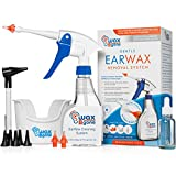 WaxBgone Ear Wax Removal Kit - Featuring SoftSpray Ear Irrigation Tip for Safe and Gentle Earwax Removal. Complete Ear Cleaning Kit for Adults and Kids (Rigid Wand + 3 Tips)