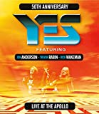 Yes Featuring Jon Anderson, Trevor Rabin, Rick Wakeman Live At The Apollo [Blu-ray]
