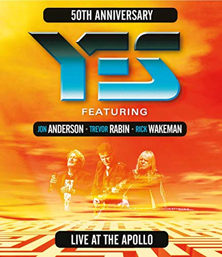 Live at the Apollo - Yes Feat. Jon Anderson/Trevor Rabin/Rick Wakeman [Blu-ray]