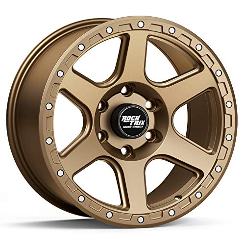 RockTrix RT112 17 inch Wheel Compatible with 2009-2021 Ford F150 (All trims including Raptor) 6x135...