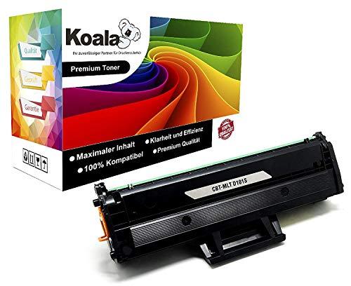 Koala 1 Toner kompatibel für Samsung MLT-D101S für Samsung ML-2161 ML-2156 ML-2160 ML-2165W ML-2168W SCX-3400 SCX-3405 SCX-3407 SCX-3400F SCX3405F SCX-3400FW SCX-3405W SF-760P